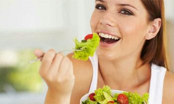 healthy mouth eating